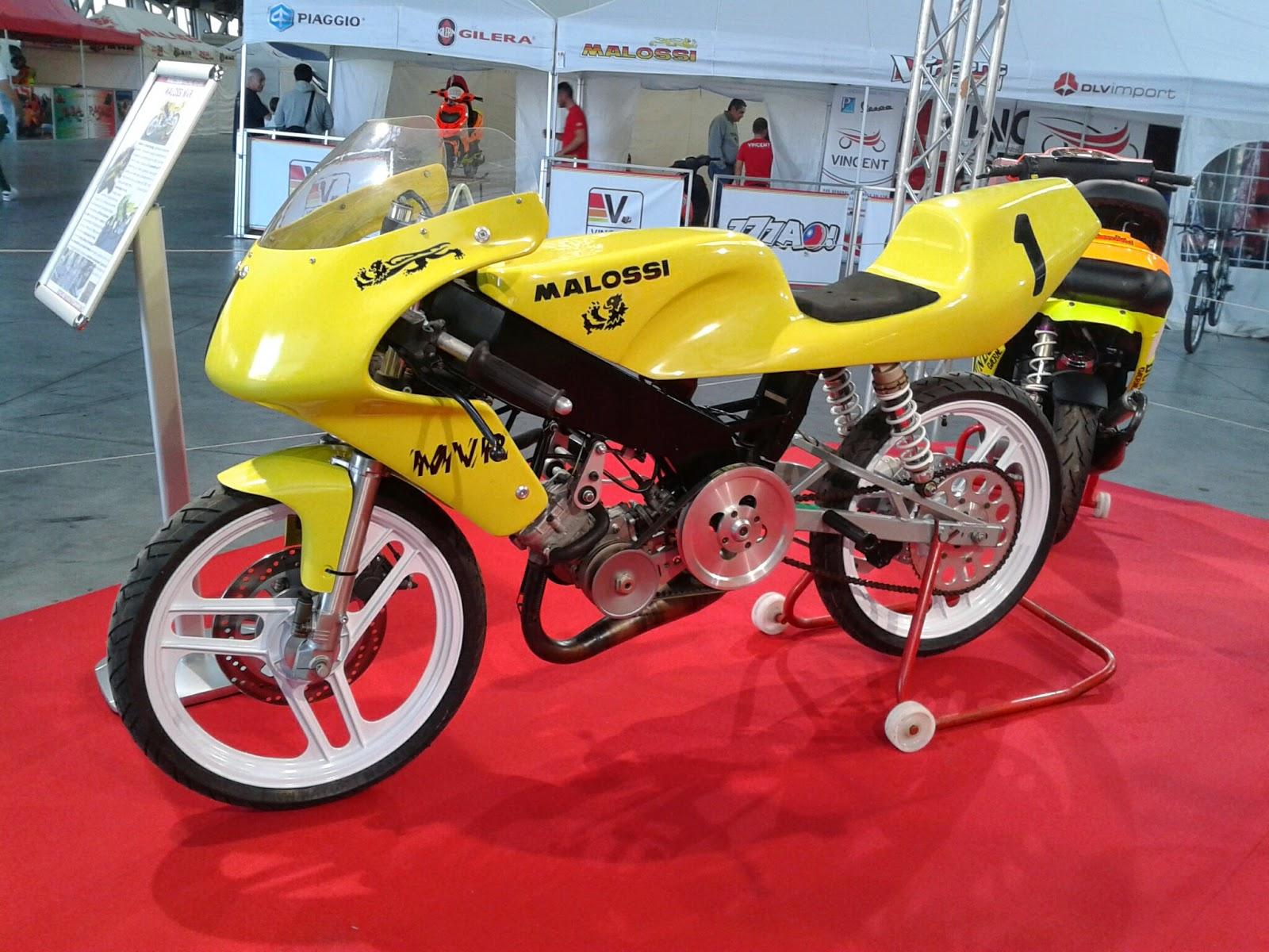 Malossi V-frame Racing (MVR) de 1992