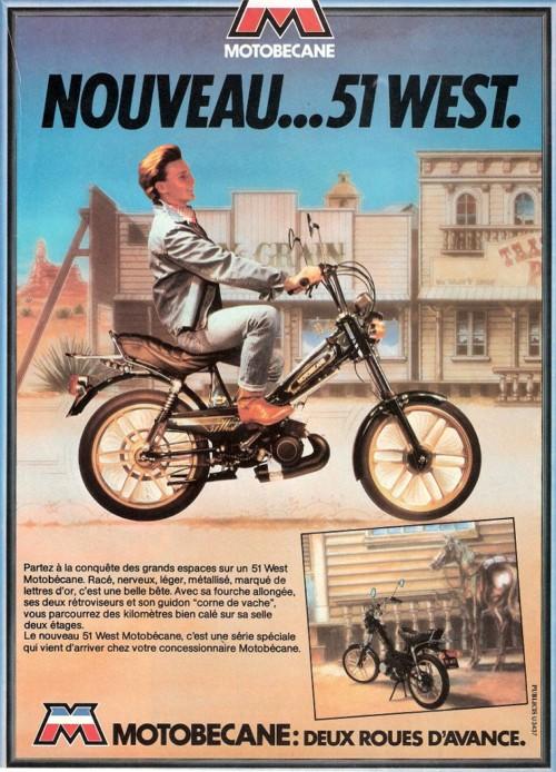 Publicité pour la 51 West