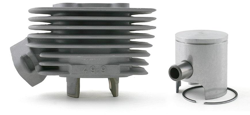 Cylindre Doppler ER1 et son piston mono-segment haut de gamme