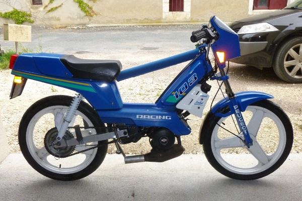 103 RCX LC M bleu et blanc