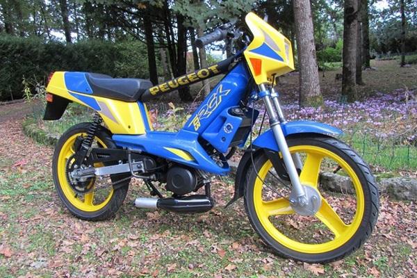 103 RCX LC M bleu et noir